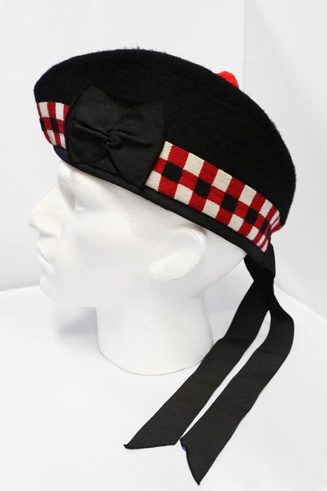 The Black Watch Regimental Navy Glengarry Amp Regimental Cap